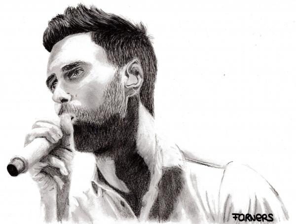 Adam Levine by FaRNeRS